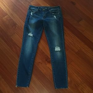 Articles of Society denim distressed skinny jeans
